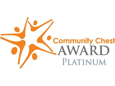 Community Chest Awards Platinum logo