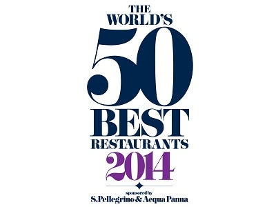 The World's 50 Best Restaurants 로고