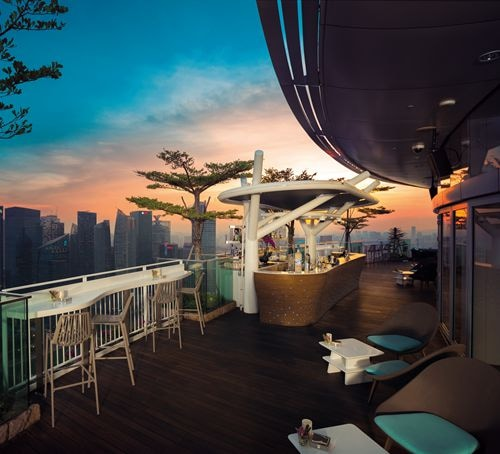 Flight Bar & Lounge at Marina Bay Sands