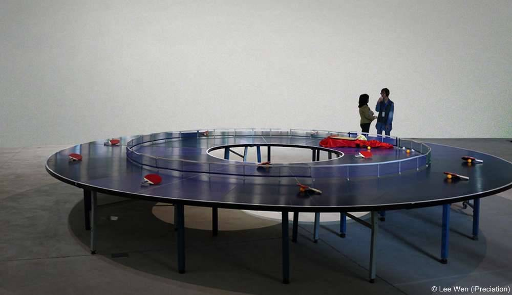Lee Wen의 Ping Pong Go-Round(iPreciation)