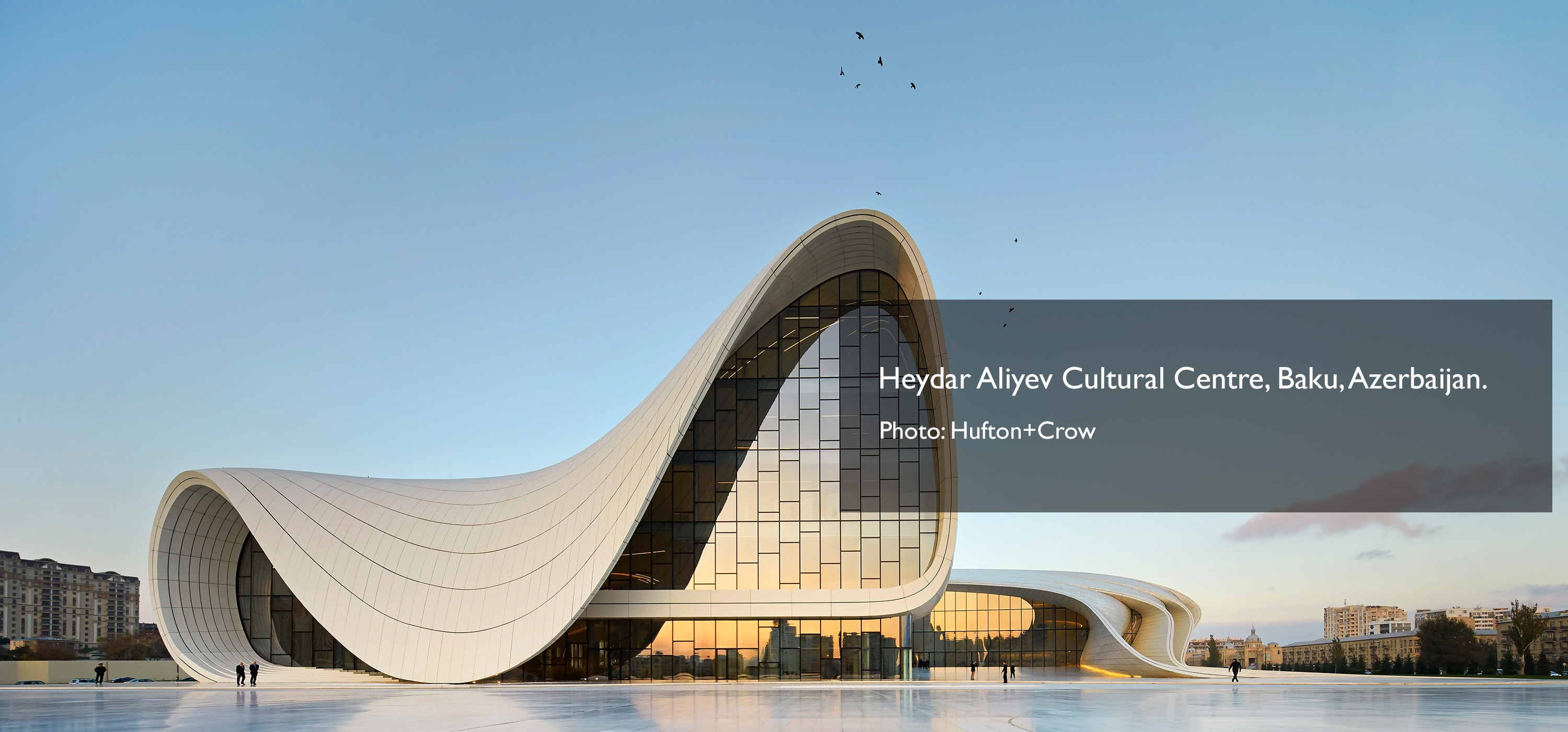 Heydar Aliyev Centre Photo by Hufton+Crow