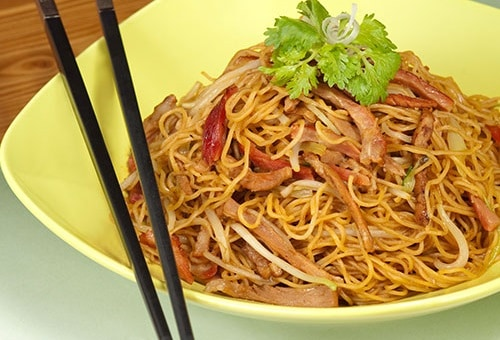 Tong Dim Noodle Bar의 볶음면