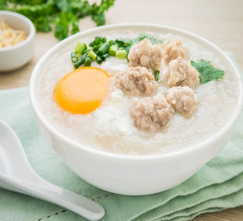 Congee, Traditional Breakfasts in Singapore, Foodie Guide, Marina Bay Sands