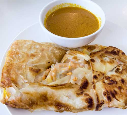 Roti Prata, Traditional Breakfasts in Singapore, Foodie Guide, Marina Bay Sands