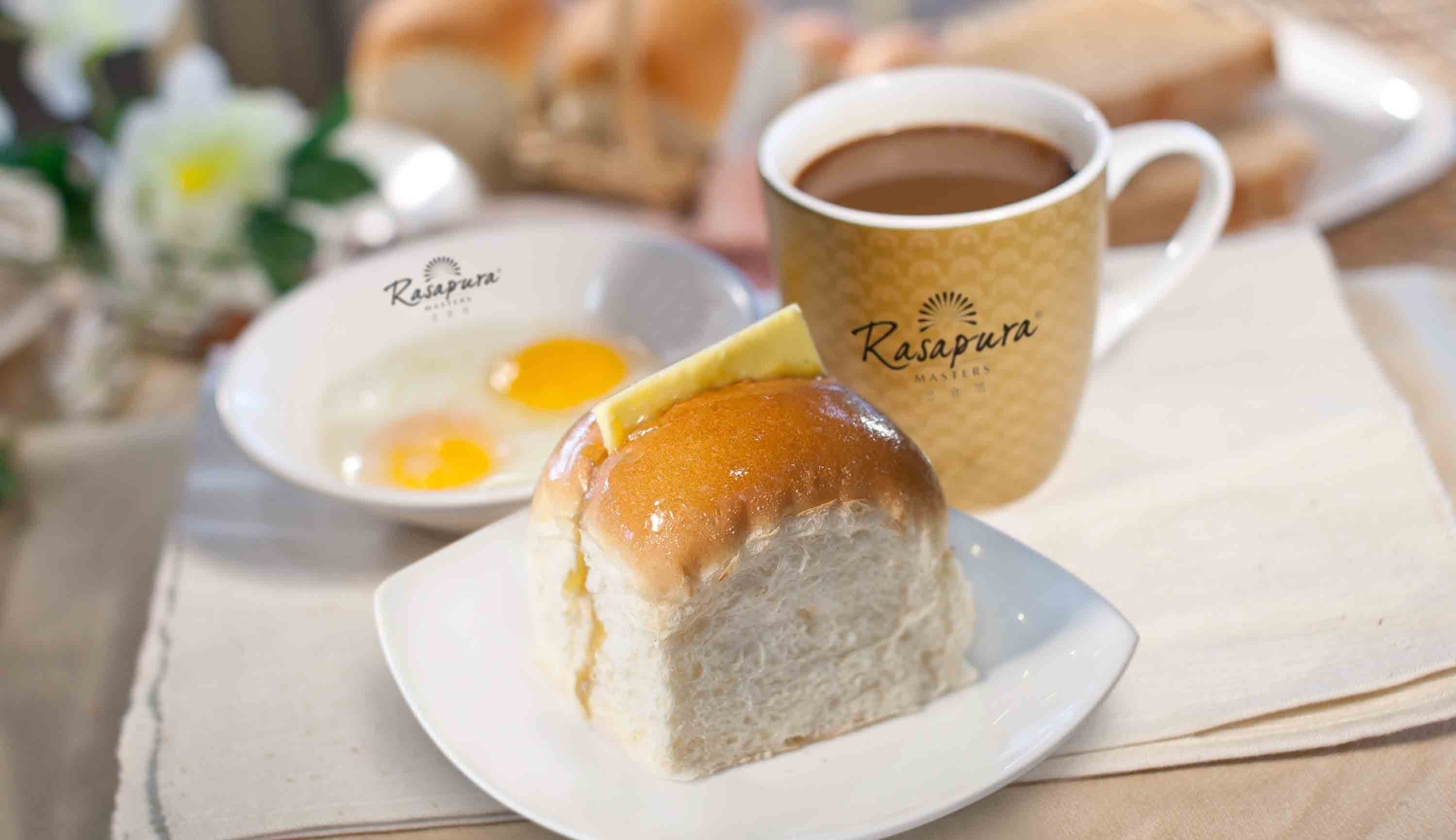 Rasapura Kaya Butter Bread and Coffee