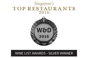 Wine List Awards - Silver Winner