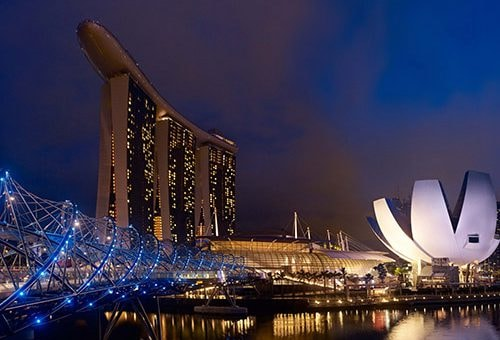 Marina Bay Sands by Timothy Hursley