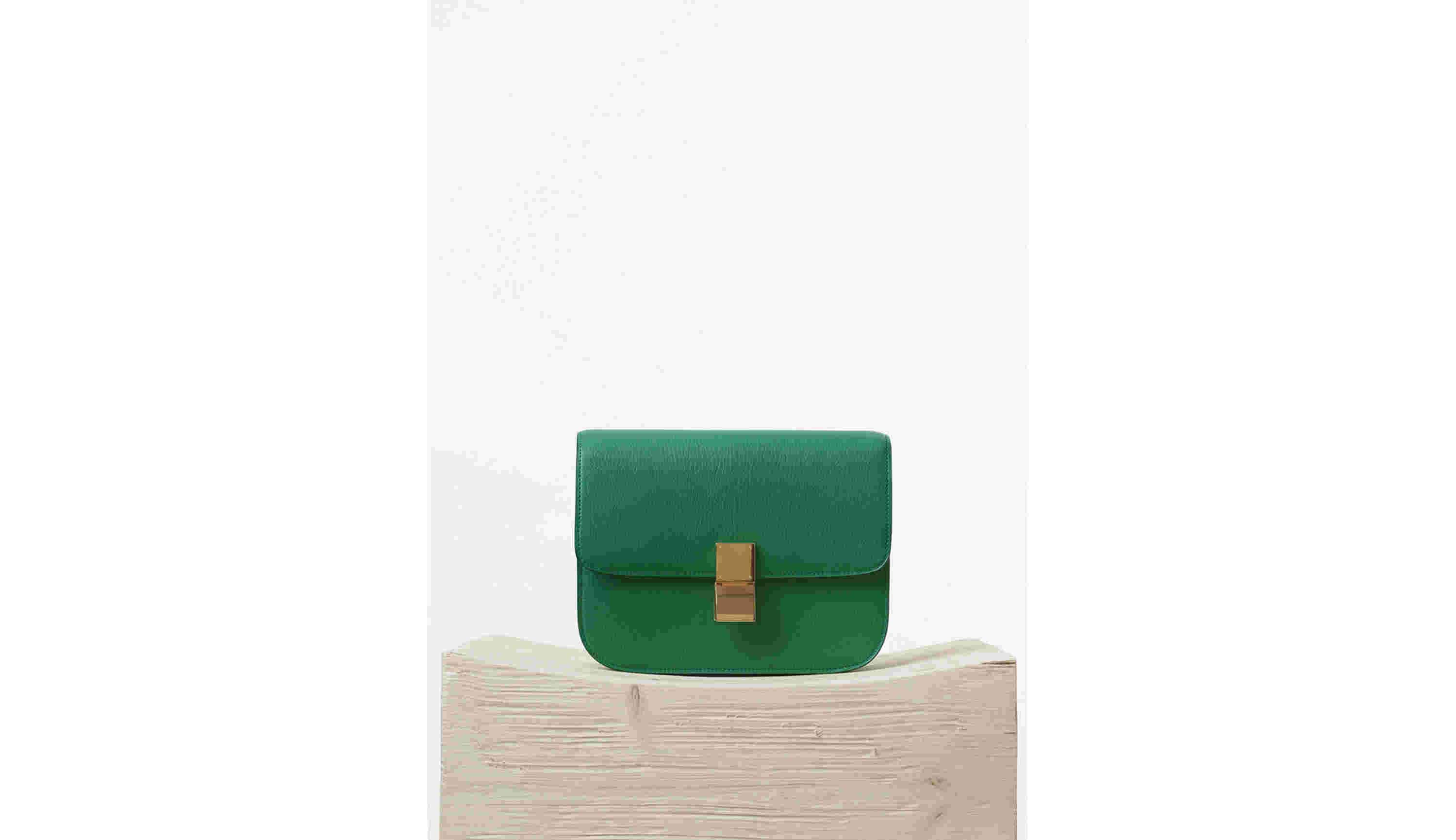 CÉLINE Summer 2015 Palm Goatskin Medium Classic