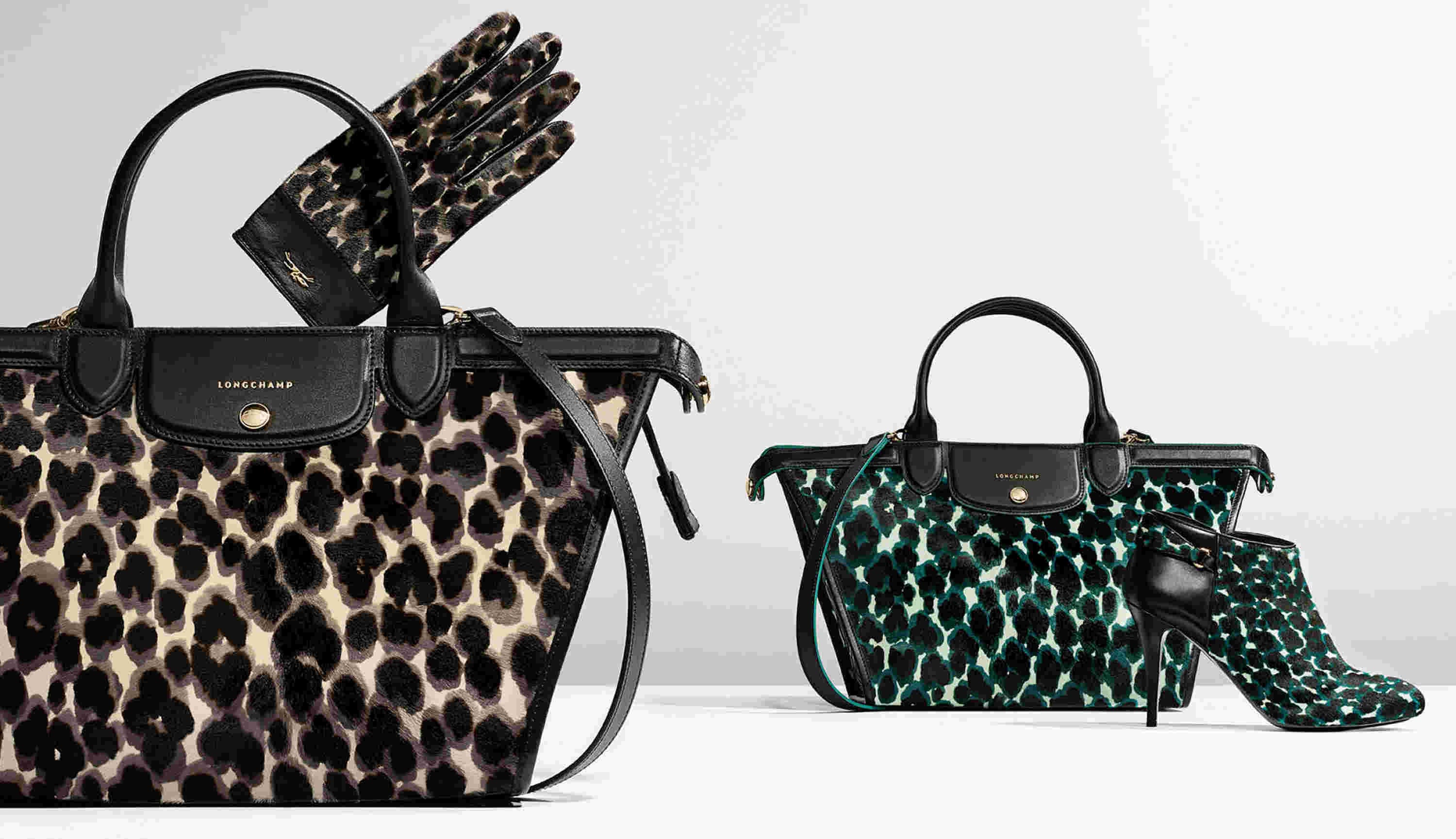 Longchamp Leopard Bag