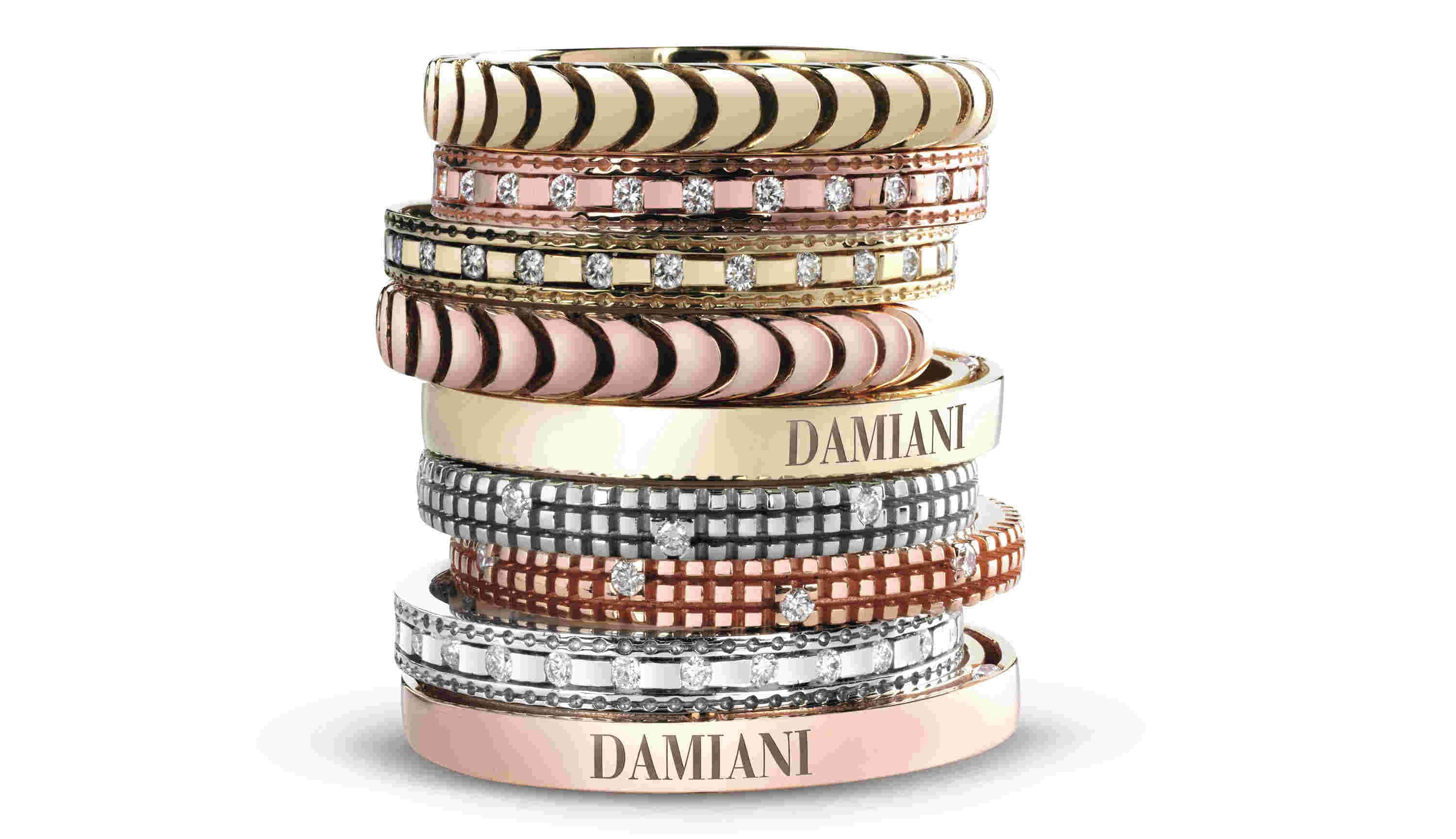 Damiani Ring Bands