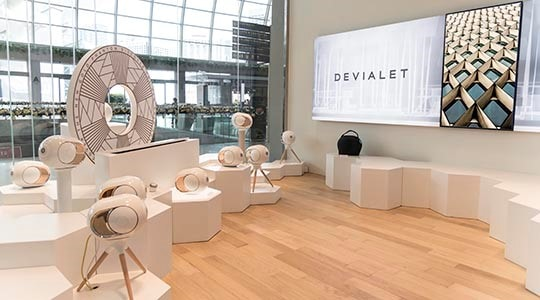 Devialet at Marina Bay Sands