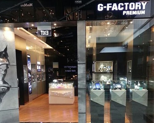 G-Factory Premium at the Shoppes Marina bay sands